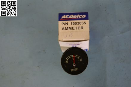 1965-1967 Corvette C2 Battery Ammeter Gauge, New, Box A